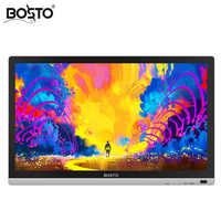 BOSTO 22 UMini 21.5in Full HD Professionale di Arte Tavoletta Grafica Monitor per Disegnare 8192 Livelli di Penna e Artista Disegno Guanto e Stand