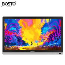 BOSTO 22 UMini 21.5in profesional Full HD arte tableta gráfica Monitor para atraer a los niveles de 8192 pluma y artista dibujo guante y soporte