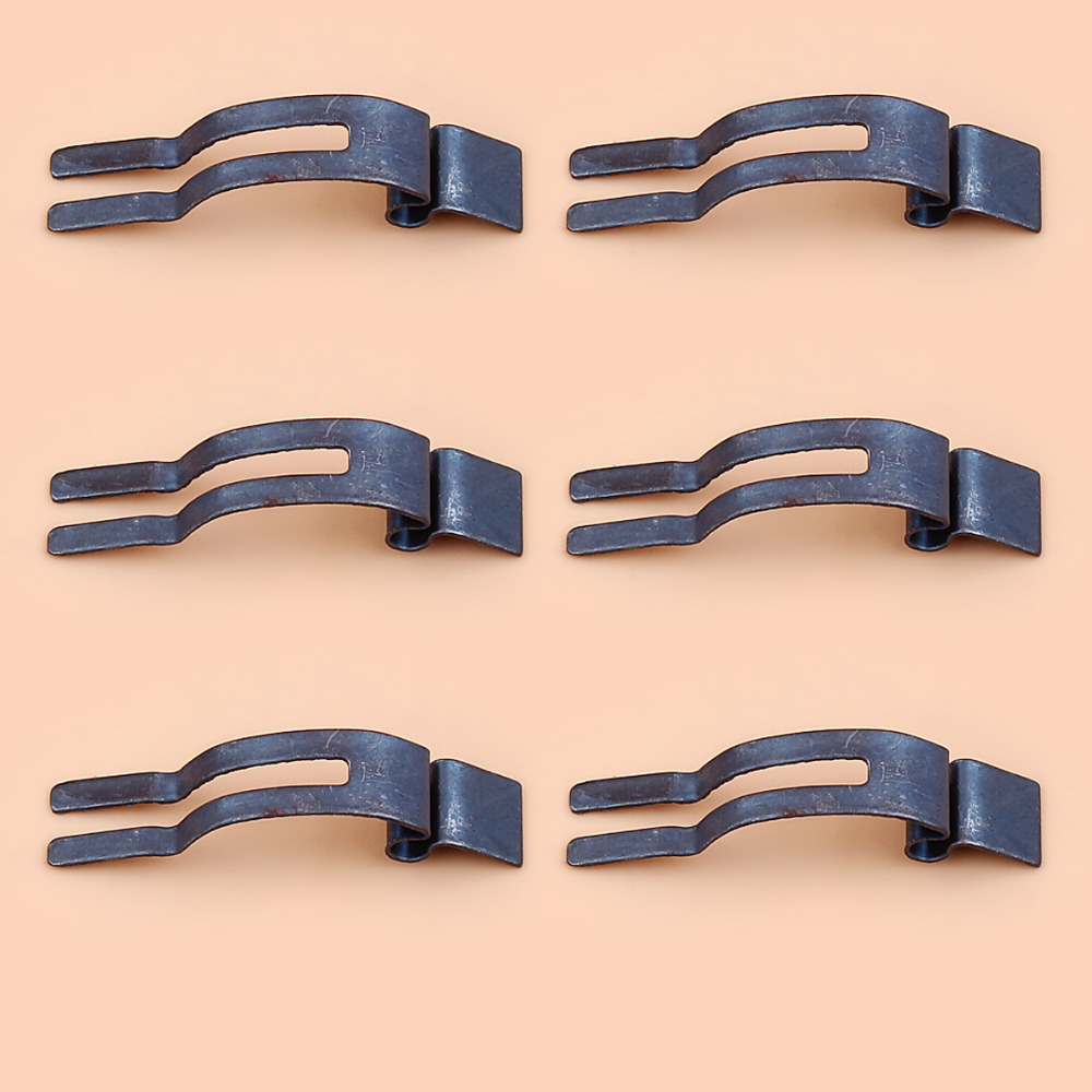 6Pcs/lot Chain Brake Control Spring For HUSQVARNA 36 40 41 42 45 49 61 66 50 51 55 136 141 154 268 272 Chainsaw Parts