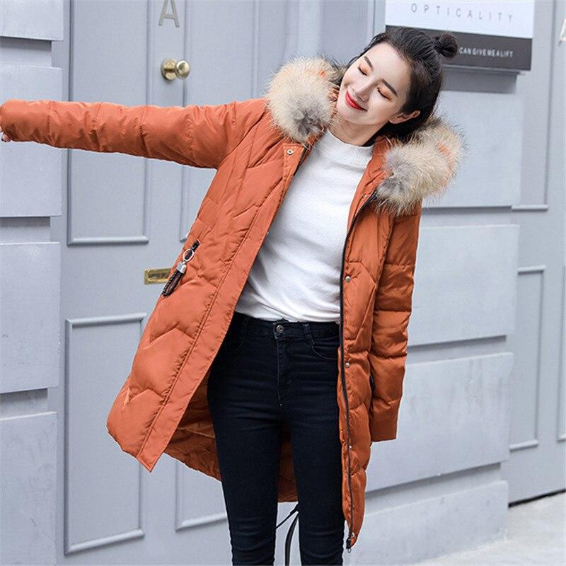 Colour Slim Style Chaud Long De M brick Vs073 Article Vestes Mode Hiver Red Parkas Grande Femme caramel red dessus Genou white Coton Taille Du 5xl Moyen Manteaux Black Femmes FqxwO
