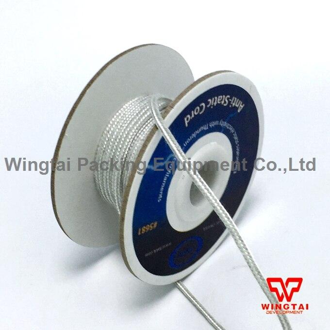 10m/roll 5681# USA TAKK Static Eliminating Cord Anti static cord/rope  original usa takk anti static tinsel