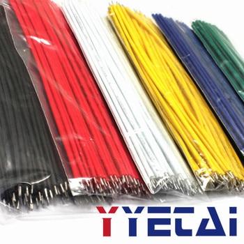 YongYeTai alambre Aberdeen 24AWG 15CM paquete de cables 6 colores cada 50 piezas total 300 piezas