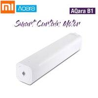 Xiaomi AQara B1 Wireless Smart Motorized Electric Curtain Motor 12cm/S WiFi/Voice/App Control One Key Smart Home Kits 3030mAh