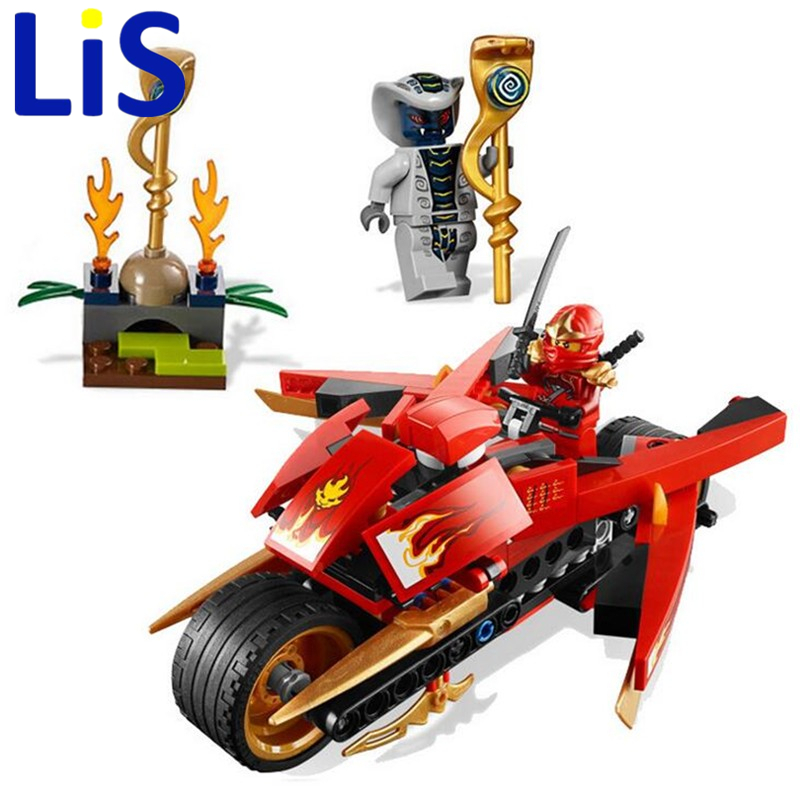 Lis 9754 Bela 187pcs Phantom Ninjago Kai's Blade Cycle Motorcycle Action Building Blocks Bricks Toys 9441 Compatible with Lepin chuang code 30ml