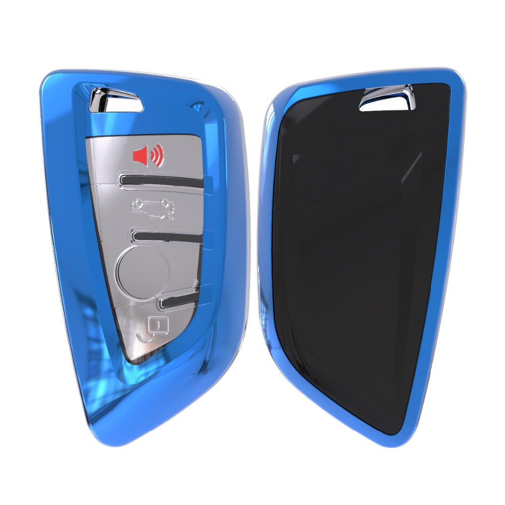 Image 4 - Soft TPU Remote Smart Key Cover Case Shell For BMW X1 X5 X6 530i 535i 540i 550i 740e 740i 750i 750Li GT xDrive 2014 2015 2016-in Key Case for Car from Automobiles & Motorcycles