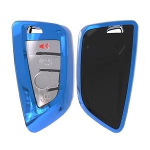 Image 4 - Soft TPU Remote Smart Key Cover Case Shell For BMW X1 X5 X6 530i 535i 540i 550i 740e 740i 750i 750Li GT xDrive 2014 2015 2016