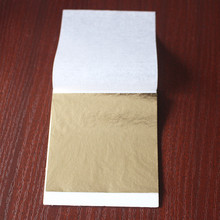 1000 Sheets Antique Imitation Gold Leaf, Gilding,paste Furniture,lines  ,wall,crafts,a Good Material ,80X85cm, Free Shipping.
