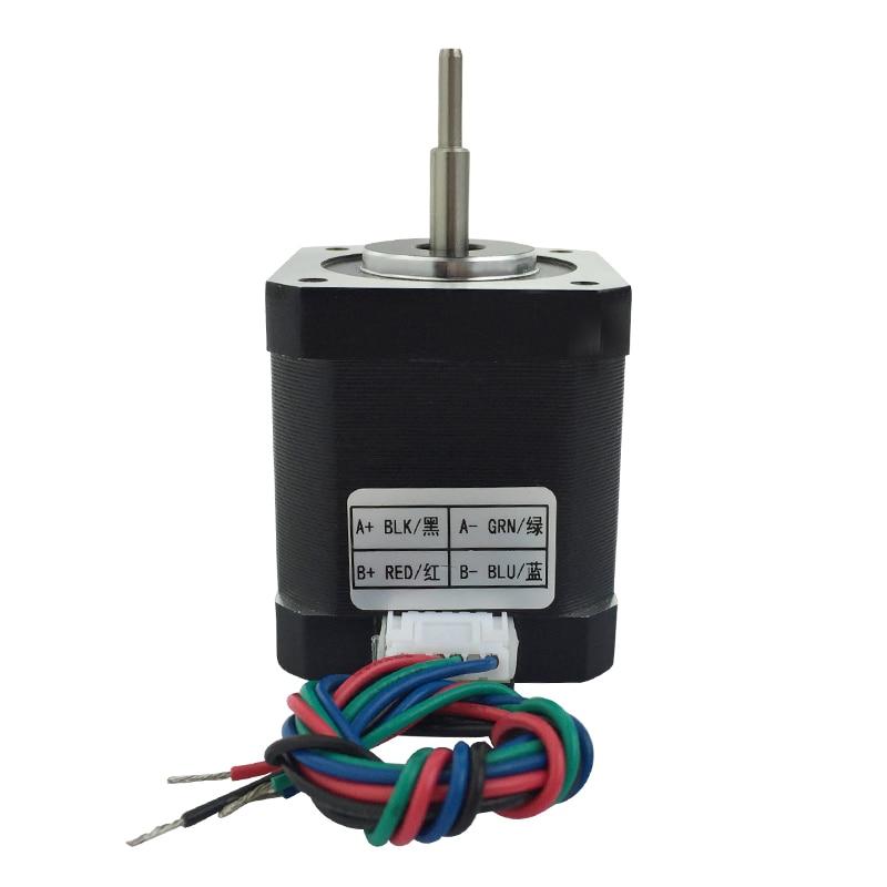 цена на 42BY stepper motor micro DC 42 stepper motor 3D engraving machine 1.8 step angle 12V-36V