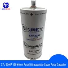 Ultrakondensator 2,7 V 3000F 136*60mm Niedrigen ESR Hohe Frequenz Super Farad Kondensator 2,7 V3000F 136x60mm für Auto Auto Netzteil