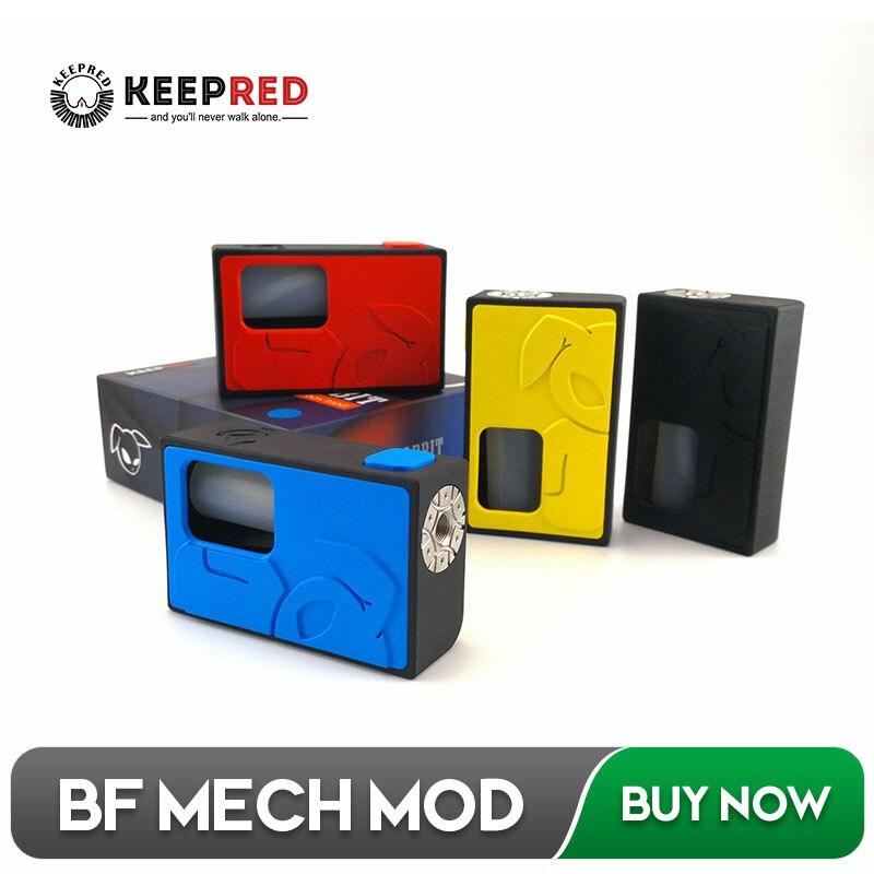 KEEPRED S-Rabbit Squonk Mechanical BF Box Mod Liquid Bottle Bottom Feeder Mech Mod RDA Electronic Cigarette for Dead Rabbit
