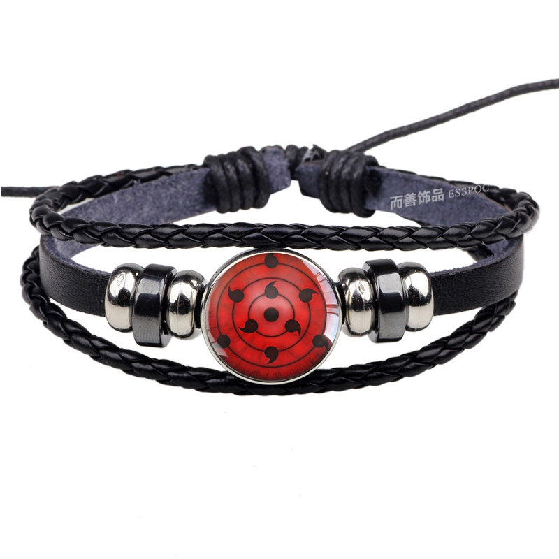 Naruto - Uchiha Sharingan Charm Bracelet (14 Styles)