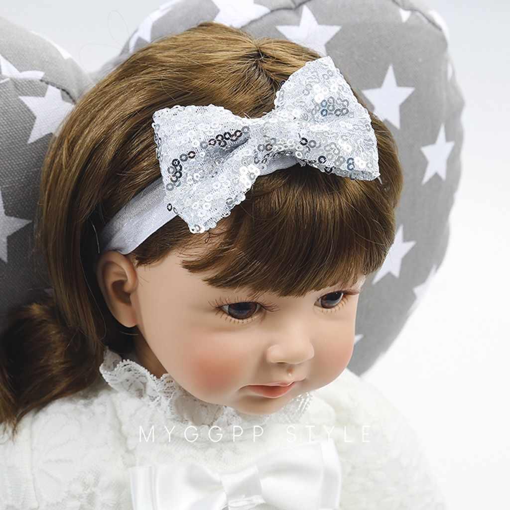 เด็กดอกไม้ Headband สาวลูกไม้ทารกผมสานแฟชั่นน่ารักหวานเด็กสาวเด็กผู้หญิง Headband นำ Bow Knot HairBand bling