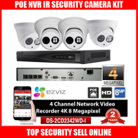 HIK DS 7604NI E1 4P Original English Version P2P 4CH 4POE Network Video Recorder With Original