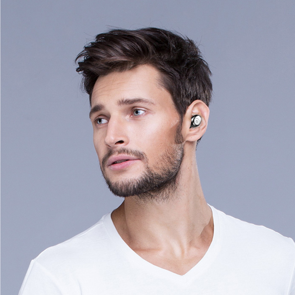 Image 5 - TWS Bluetooth 5.0 Earphones Wireless Earphones for redmi note 4 phone Stereo Earbuds charging with box 3500 mAh Power bank-in Bluetooth Earphones & Headphones from Consumer Electronics