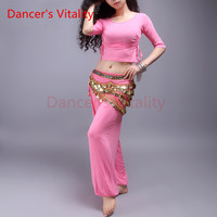 Dancer S Vitality 2017 New Brand Belly Dance Costume Short Sleeves Strap Design Oriental Dance Costumes
