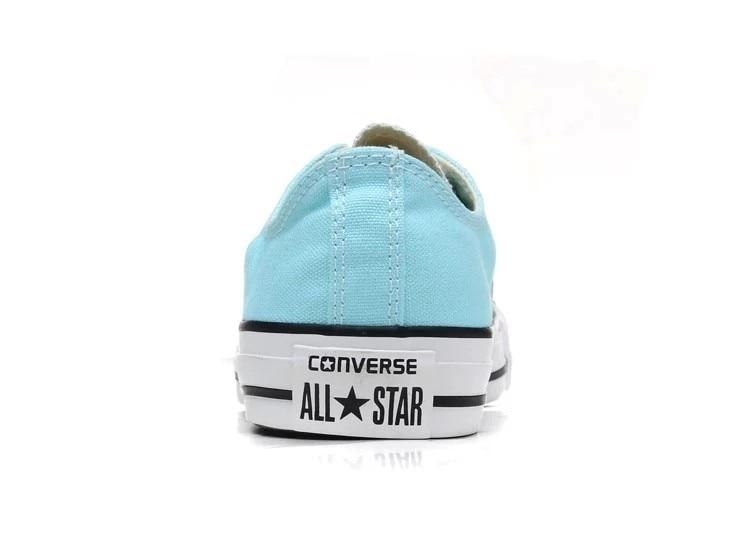 24e9b8eb Original Converse all star Aqua y rosa de color zapatos de lona de los  hombres y de las mujeres zapatillas de Skate clásicos Zapatos bajos en  Zapatos de ...