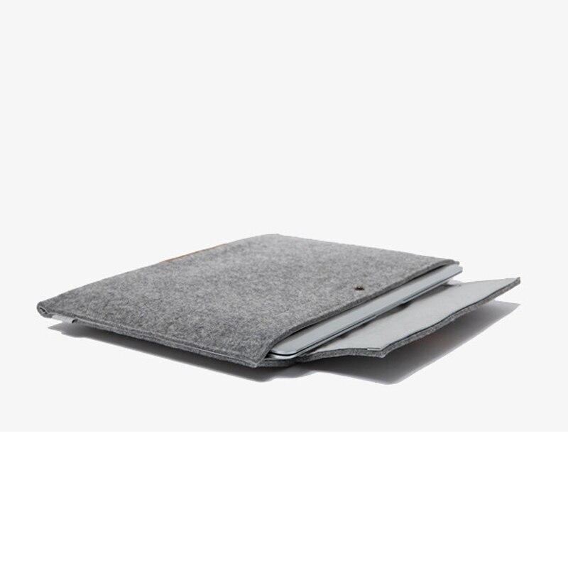11,6 13,3 15,4 tum ullfilt bärbar bärbar datorväska väska till - Laptop-tillbehör - Foto 4