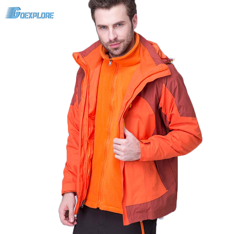 Goexplore thermal thicken jacket Male Outdoor Sports ski jackets camping coat Waterproof Windproof climbing jacket for man winter jackets thermal thicken jacket outdoor sports ski jackets camping coat waterproof windproof climbing jacket for mans