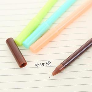 Image 4 - Jonvon Satone 50 adet sevimli kalem tatlı şeker halkası nötr kalem plastik yazma kalemler toptan kırtasiye Kawaii okul malzemeleri