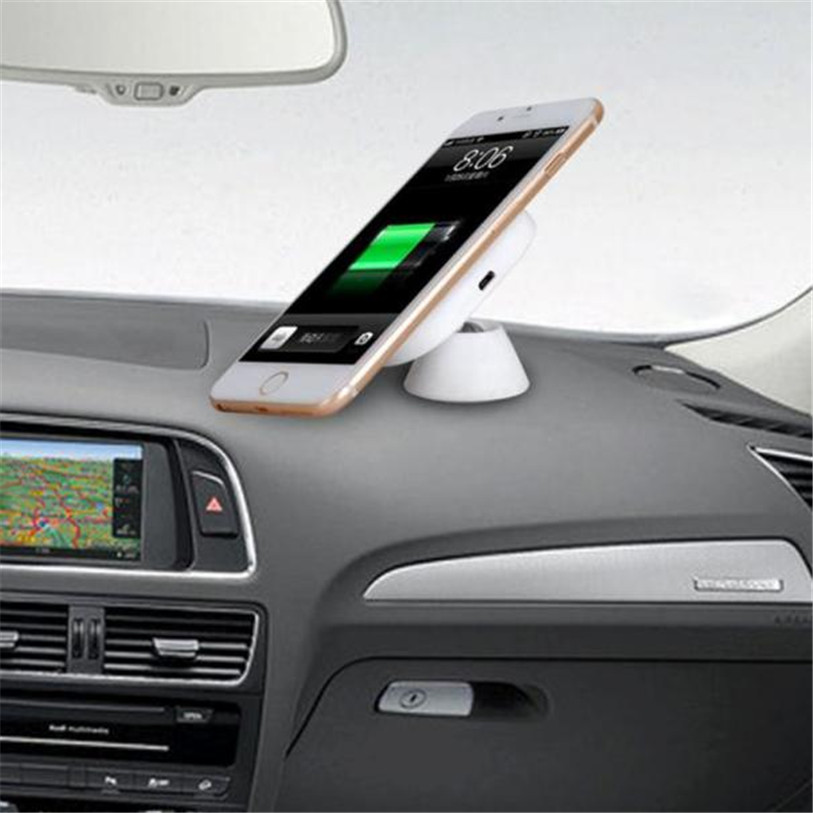 HL Qi Car Wireless Charger Charging Pad Magnetic Stand For Samsung Galaxy Note 7 AUG 30#3