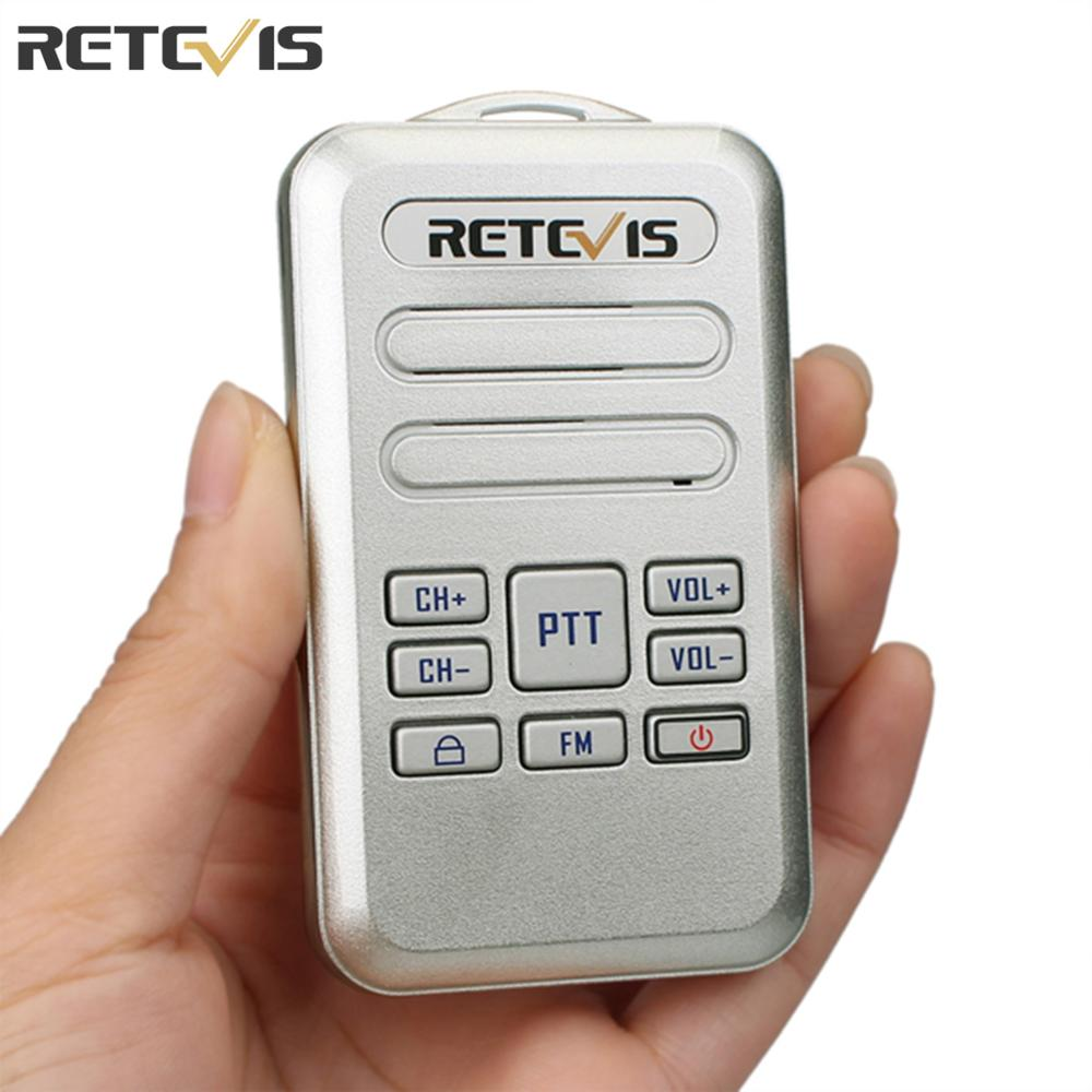 Punctual Retevis Rt20 Mini Walkie Talkie 2w Uhf 400-470mhz Fm Business Radio Station Hf Transceiver Cellphones & Telecommunications