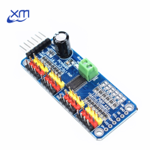 10pcs/lot 16 Channel 12-bit PWM/Servo Driver-I2C interface PCA9685 module