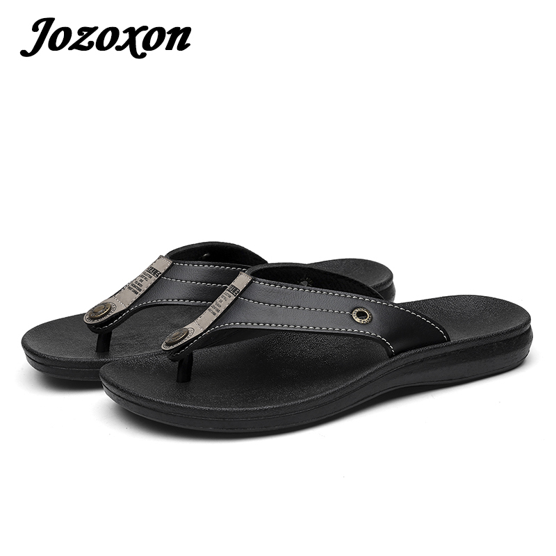 2018 Hot Selling Fashion Beach Slippers Flip Flops Mens Slippers   Casual Men Shoes Summer Sapatos Hembre sapatenis masculino lanshulan bling glitters slippers 2017 summer flip flops platform shoes woman creepers slip on flats casual wedges gold