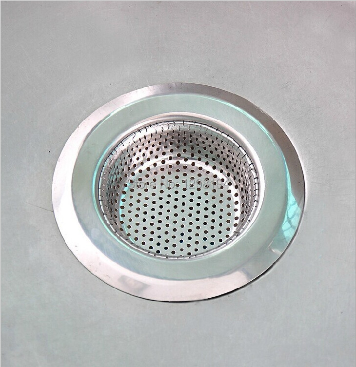 kitchen stainless steel sink strainer waste disposer plug drain stopper filter 3s m l size - Kitchen Sink Strainer