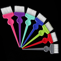1Pcs Multicolor Hair Dye Coloring Brush Comb Barber Salon Tint Hairdressing Hair Styling Coloring Combs With Brush Dying Tool