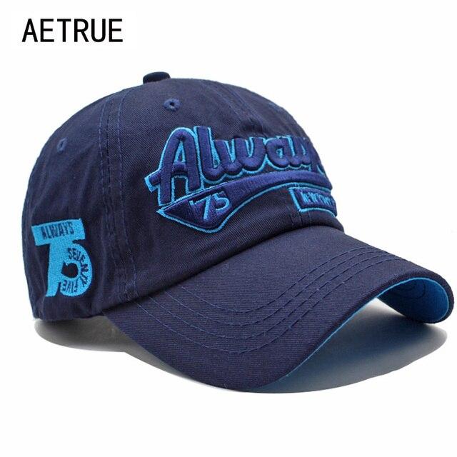 ae891e50382 AETRUE Fashion Men Snapback Casquette Women Baseball Cap Dad Brand Bone  trucker Hats For Men Gorras Casual Embroidered Hat Caps