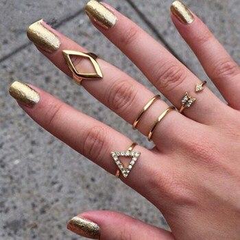 Rings fashion  Aliexpress.com : Buy 5pcs/lot Fashion Rings for Women 2017 Bague ...