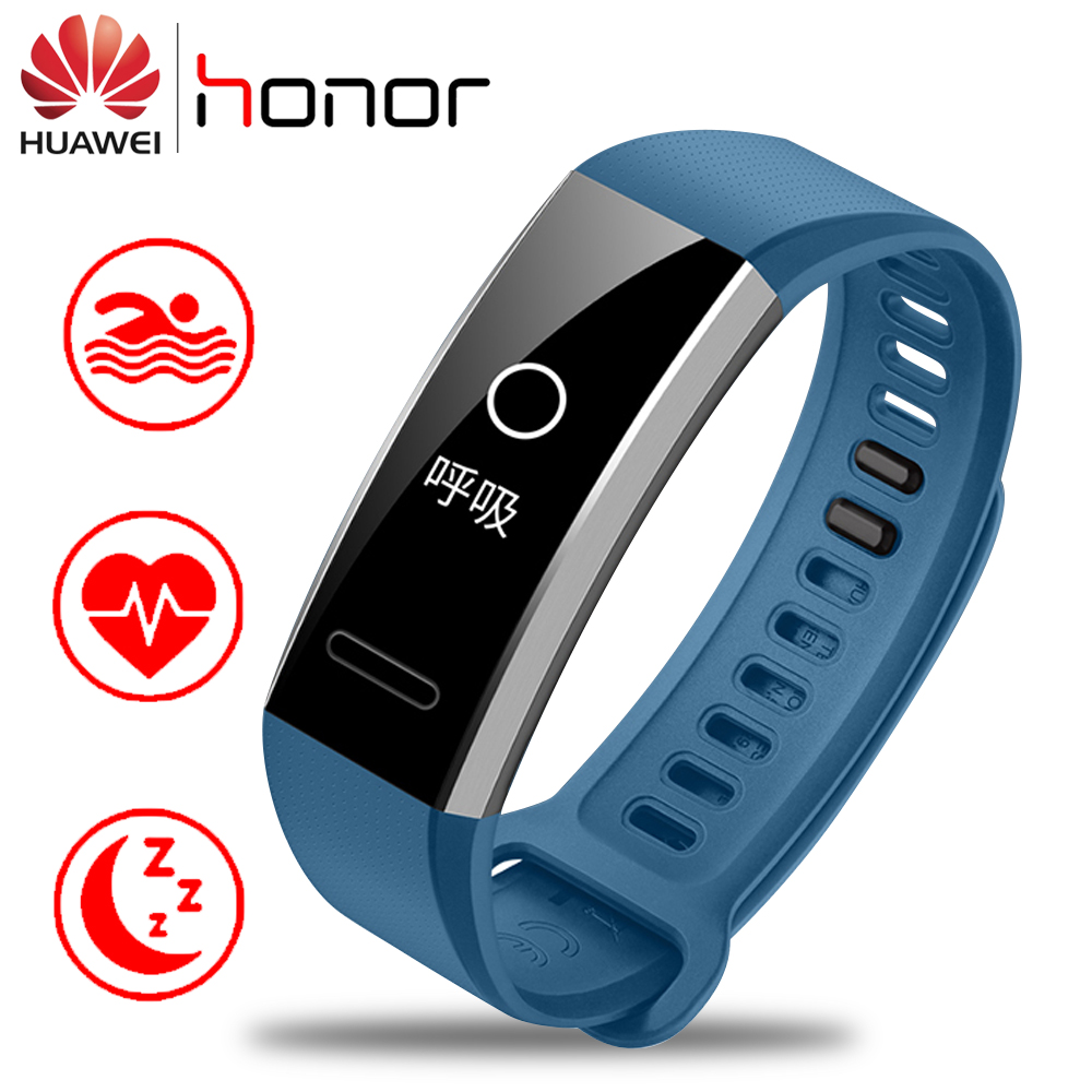 цена на Original Huawei Band 2 Pro B19 B29 Smart Bracelet With GPS OLED Screen Touchpad Heart Rate Monitor Swimming Waterproof Bluetooth