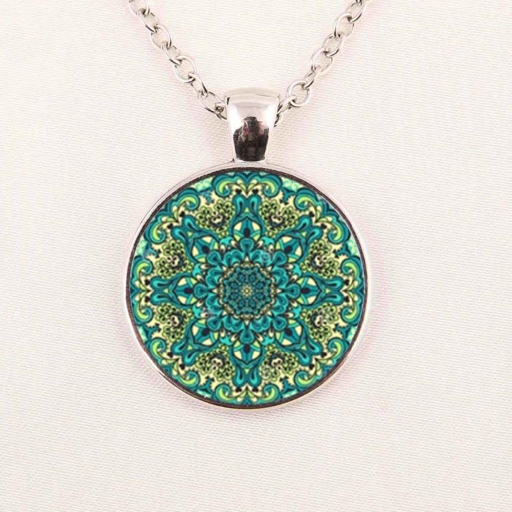 New Mandala Necklace Mandala Jewelry Art Pendant For