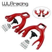 WLR RACING Adjustable (L&R) Front Upper Control Arm Camber Kit For 92 95 Civic 94 01 Integra Eg RED WLR9872