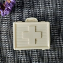 цена на Cross first aid kit silicone mold soap mold first aid kit medical box DIY handmade soap making mold candle silicone mold