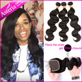 Brazilian Virgin Hair Body Wave 7A Grade Brazilian Body Wave 3 Bundles 100% Unprocessed Brazilian Human Hair Weave Bundles