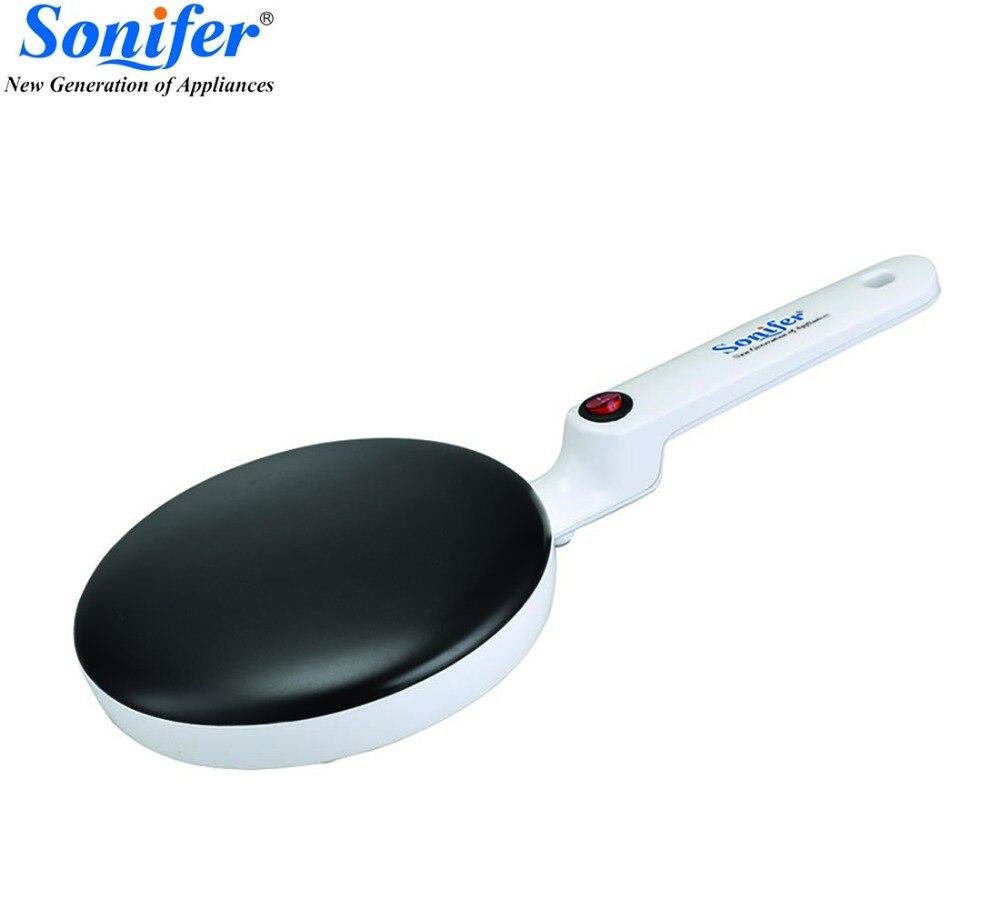 Crêpière électrique Pizza Crêpière Non-bâton Plaque de cuisson pan Gâteau Machine cuisine cuisine outils sonifer