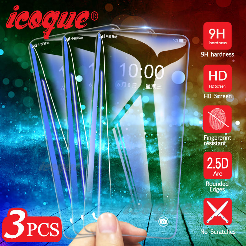 3pcs Glass For Huawei Honor 20 9X Pro 8X 10 Lite 20i 8C Screen Protector 9H Tempered Glass For Huawei P20 Lite 2019 Pro P30 Lite
