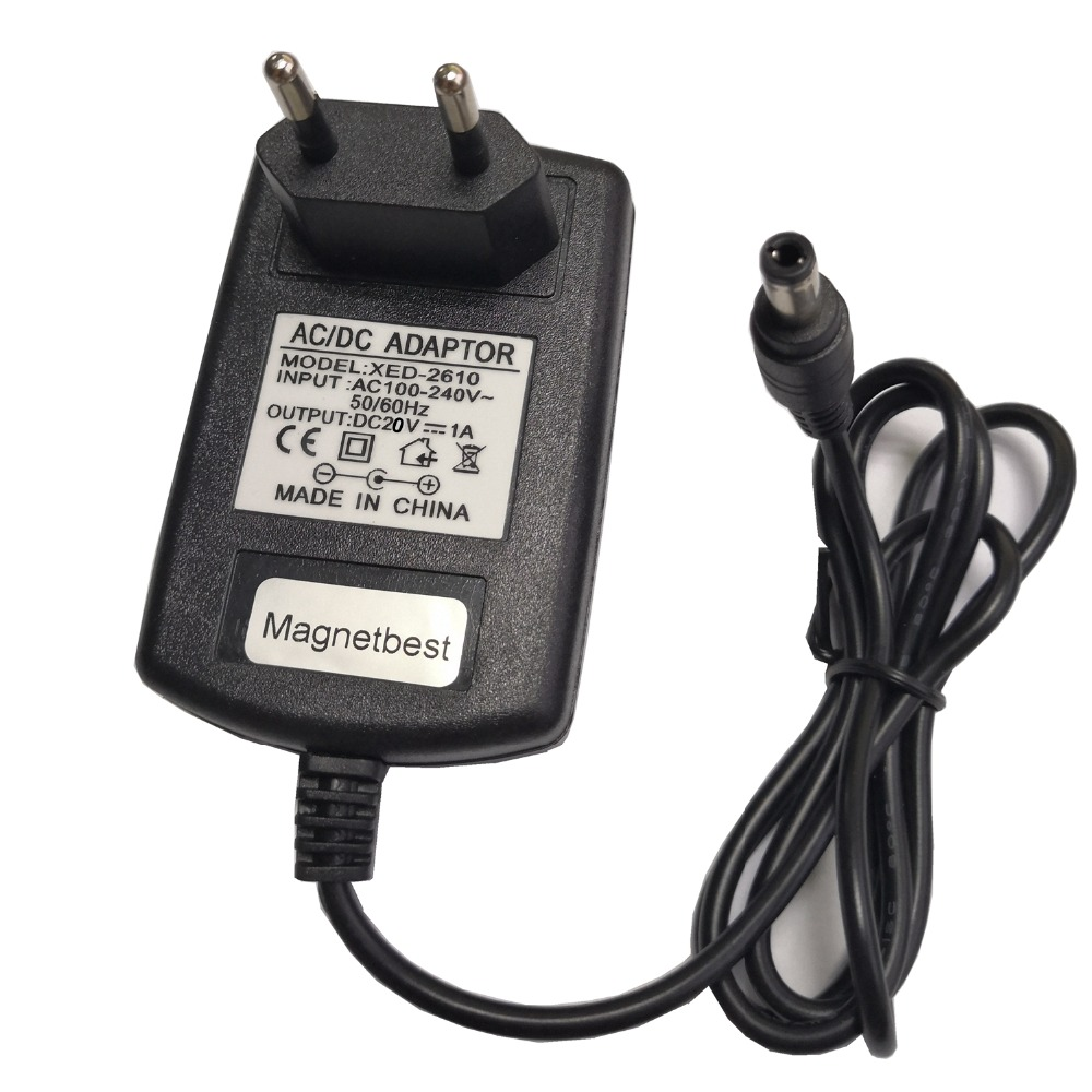 20V 1A 600mA 0.6A AC Adapter Charger for Dibea D960 D963 DT966 DT969 GT200 GT9 D850 D855 D900 DT850 DT855 Robotic Vacuum Cleaner(China)