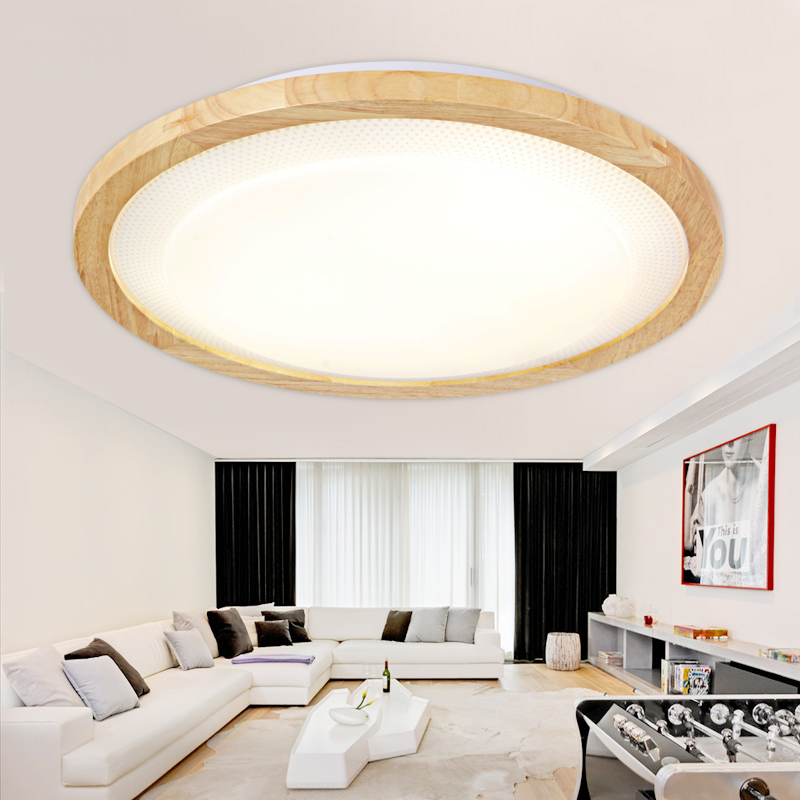 acv modern led ceiling lights for living room bedroom lampara techo wooden led ceiling