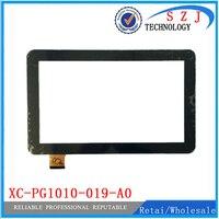 Novo 10.1 ''polegadas Touch Tela de toque Digitador Substituição Do Painel de Vidro XC-PG1010-019-A0 XLY Frete grátis