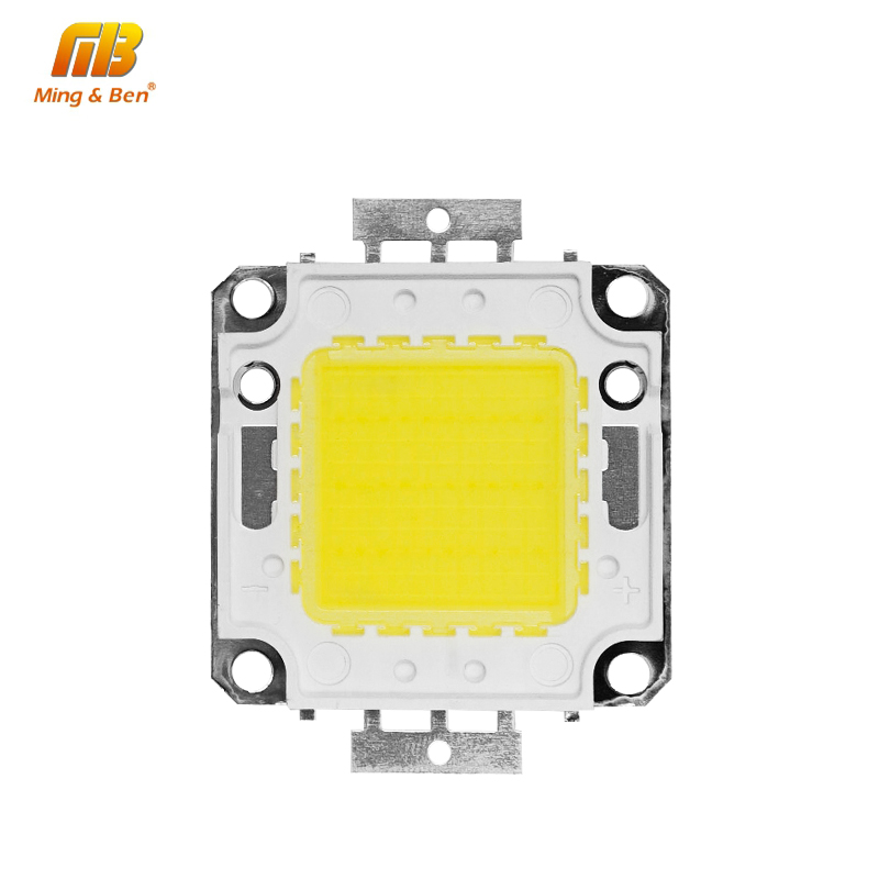 [MingBen] High Brightness LED Beads Chip 10W 20W 30W 50W 70W 100W 45*45 mil Cold White Warm White High Quality Use with Driver цена 2017