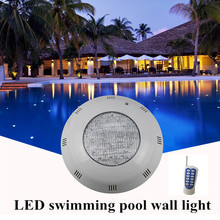 цены на IP68 Waterproof  Underwater Lights 72W LED Fountain Pond Light AC 12V Outdoor SpotLight PAR56 RGB LED Swimming Pool Light Lamp  в интернет-магазинах