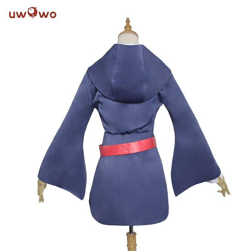 UWOWO Akko Kagari Cosplay Little Witch Academia Skola Uniform Akko - Maskeradkläder och utklädnad - Foto 3