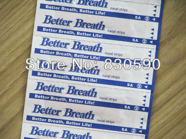 Free shipping 1000 PCS LOT 66 19mm Nasal strips Instant Nasal Congestion Relief Snoring Free Nasal