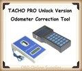 2016 últimas TACHO Pro 2008 Unlock versión TACHO2008 corrección del odómetro herramienta de corrección de kilometraje con el envío gratis por DHL rápida