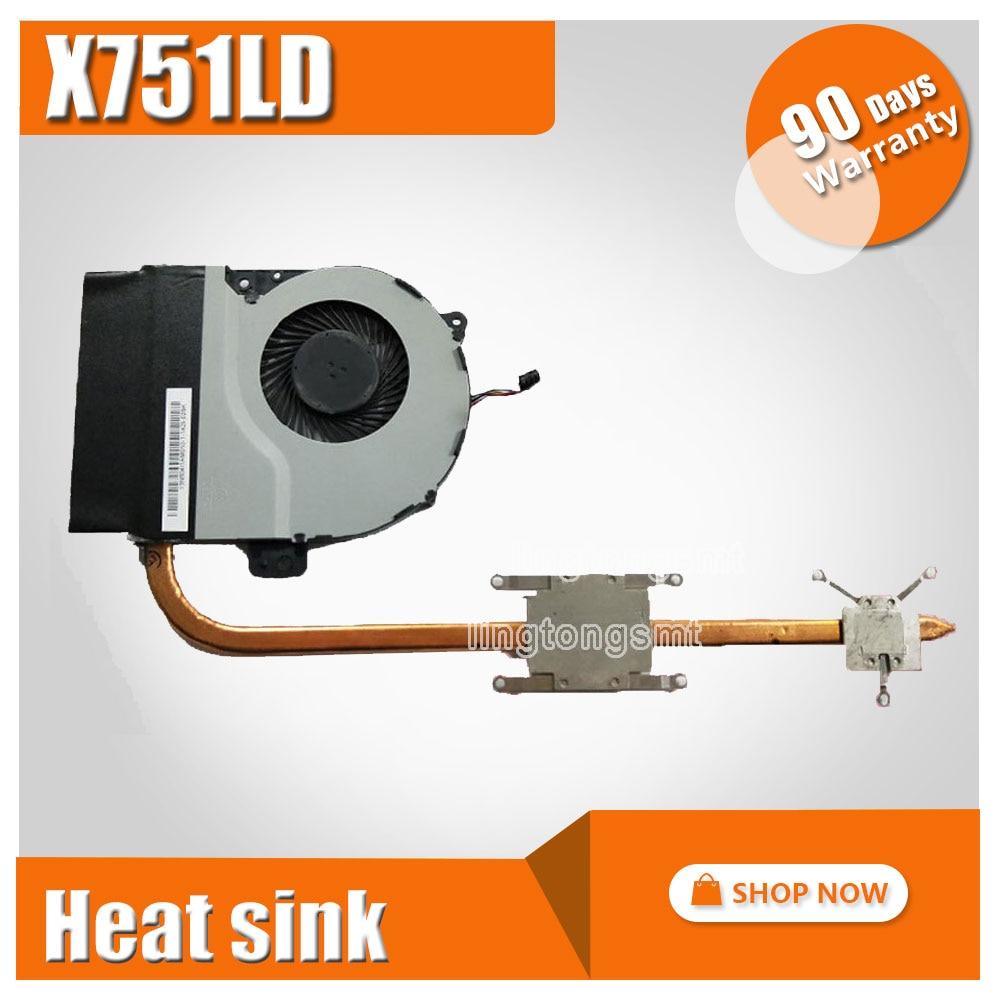 For ASUS X751MA X751MD K751M A751M X751M K751L X751L X751LK Laptop CPU cooling Radiator Heat sink Heatsink Cooler russian keyboard for asus x751 x751l x751la x751lav x751ld x751ldv x751lk x751ln ru black
