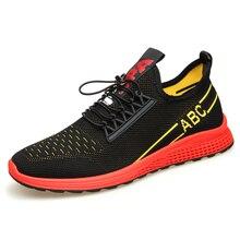 Luxury Brand Men Casual Shoes Lightweight Breathable Sneakers Male Walking Fashion Mesh Footwear Big Szie 38-44 DB0153