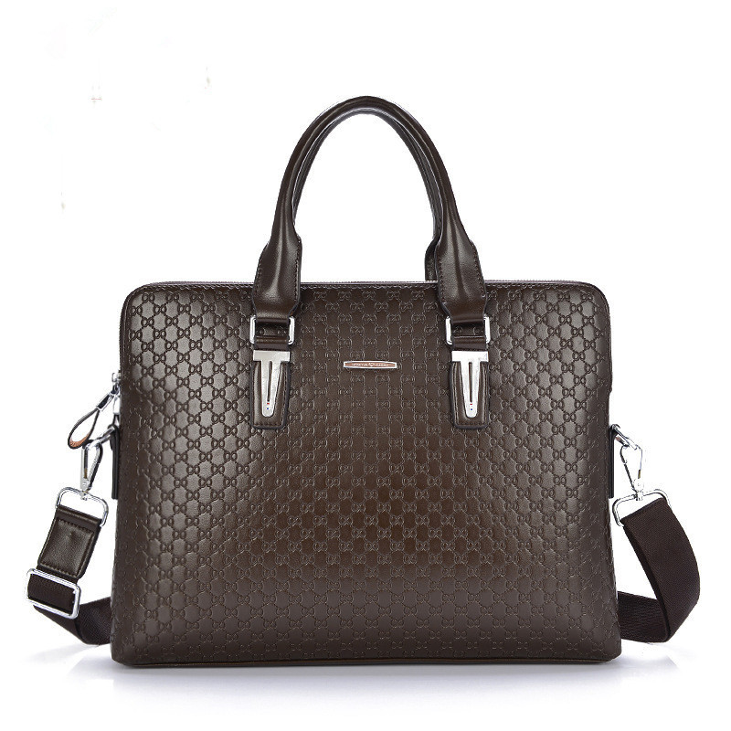 HOT 2016 Fashion pu leather Men Briefcase Men's Messenger Bags 14 Laptop Business Bag Luxury Lawyer Handbags