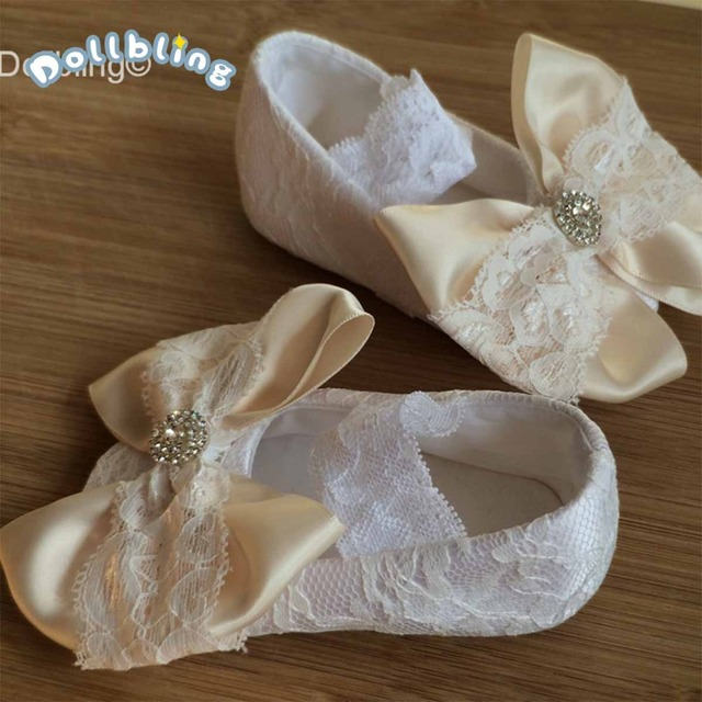 Handmade Ballerina Soft Cute Chic bow infant Bella Christening gorgeous glitter fabulous Etsy sapatos sparkle baby first walkers
